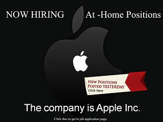 new apple jobs