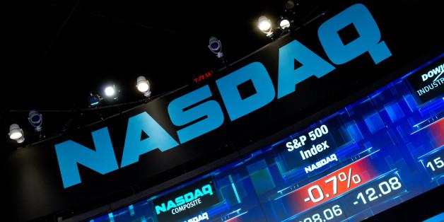 Deepak Chopra And Martine Dubin Ring The NASDAQ Opening Bell